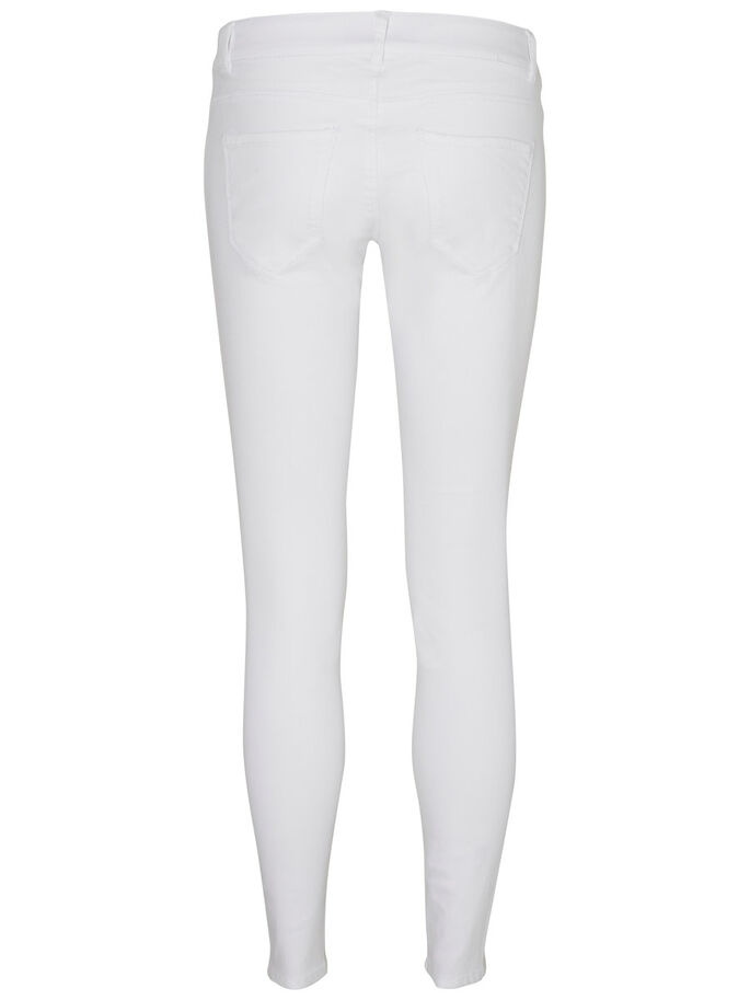 ANKLE TROUSERS, Bright White, large