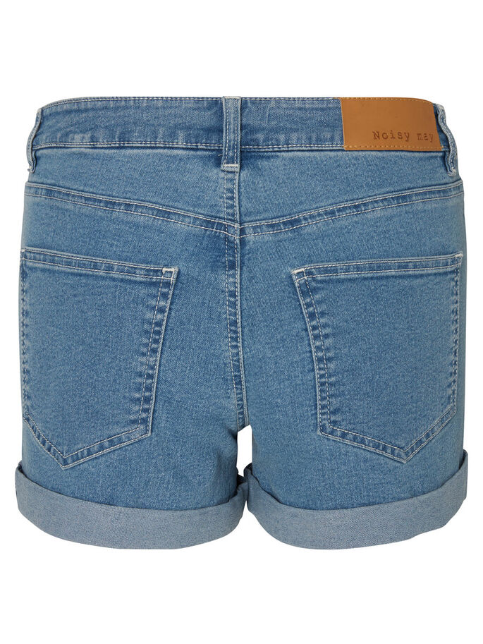 DENIM SHORTS, Light Blue Denim, large