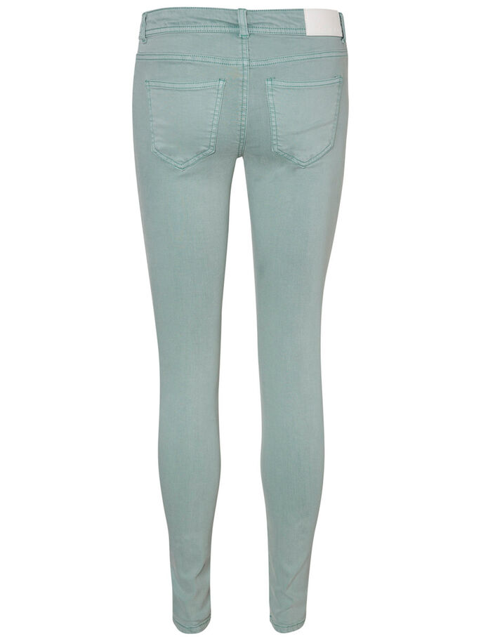 EVE LW SKINNY JEANS, Blue Surf, large