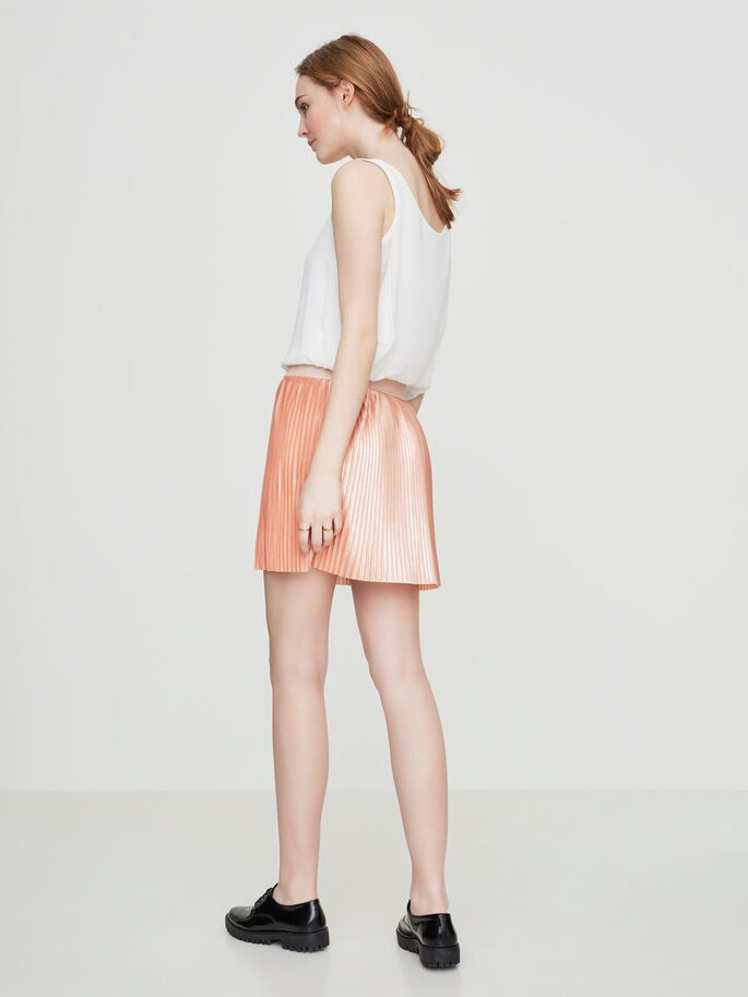 SHORT NW SKIRT, Dusty Coral, large