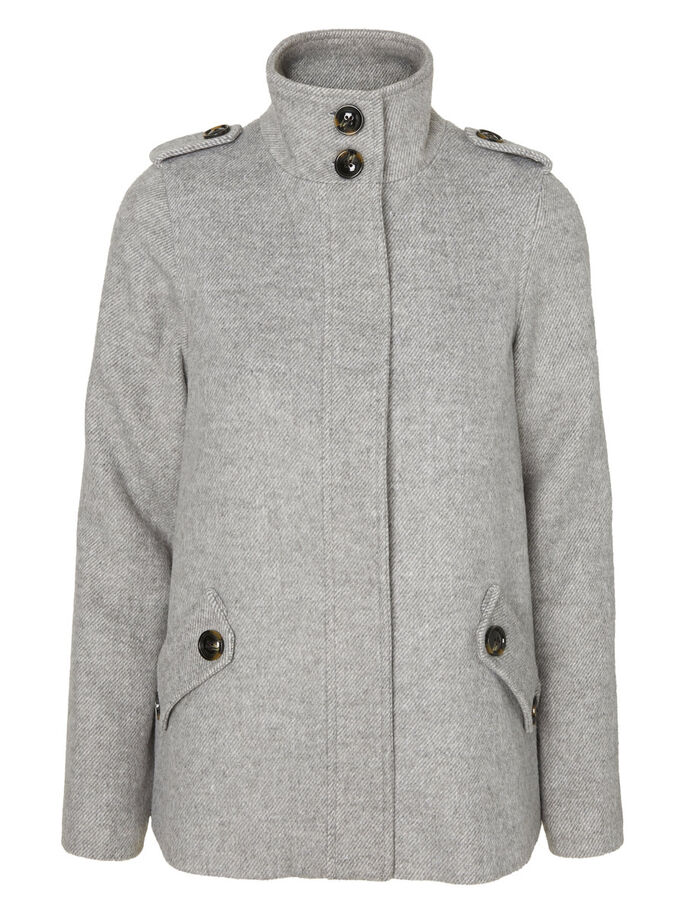3/4 JACKE, Light Grey Melange, large