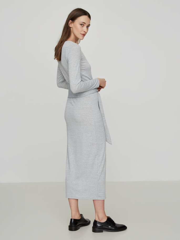 ENKEL JURK, Light Grey Melange, large