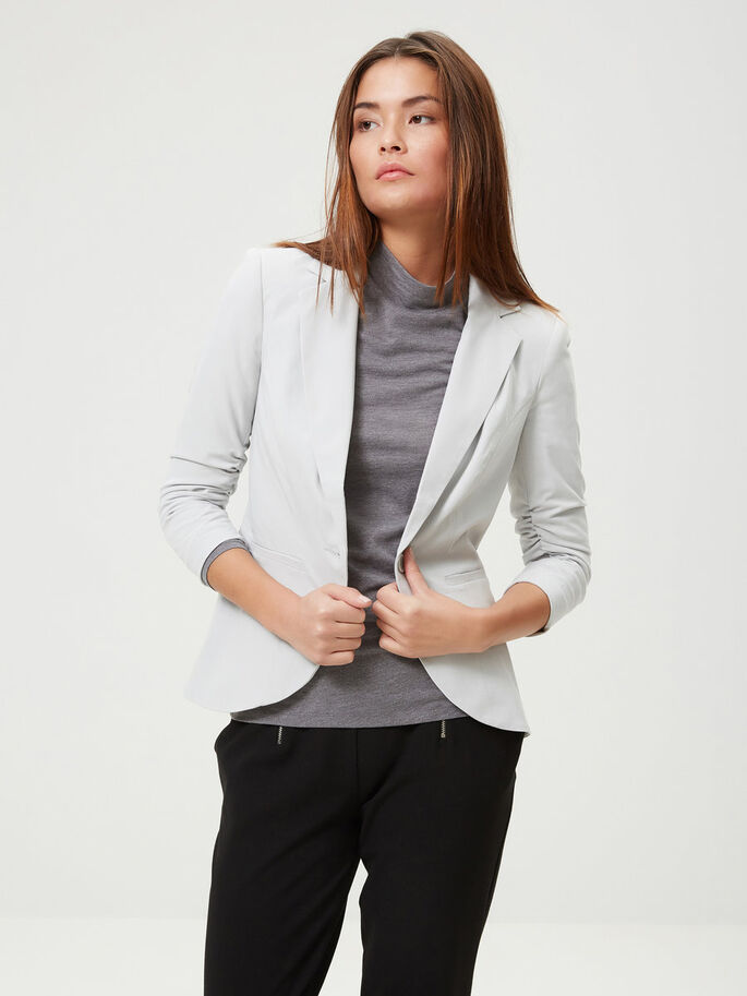 MANCHES 3/4 BLAZER, High-Rise, large
