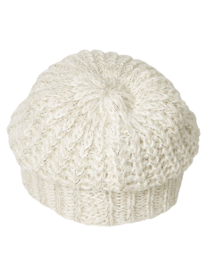 MAILLE BONNET, Light Grey Melange, large
