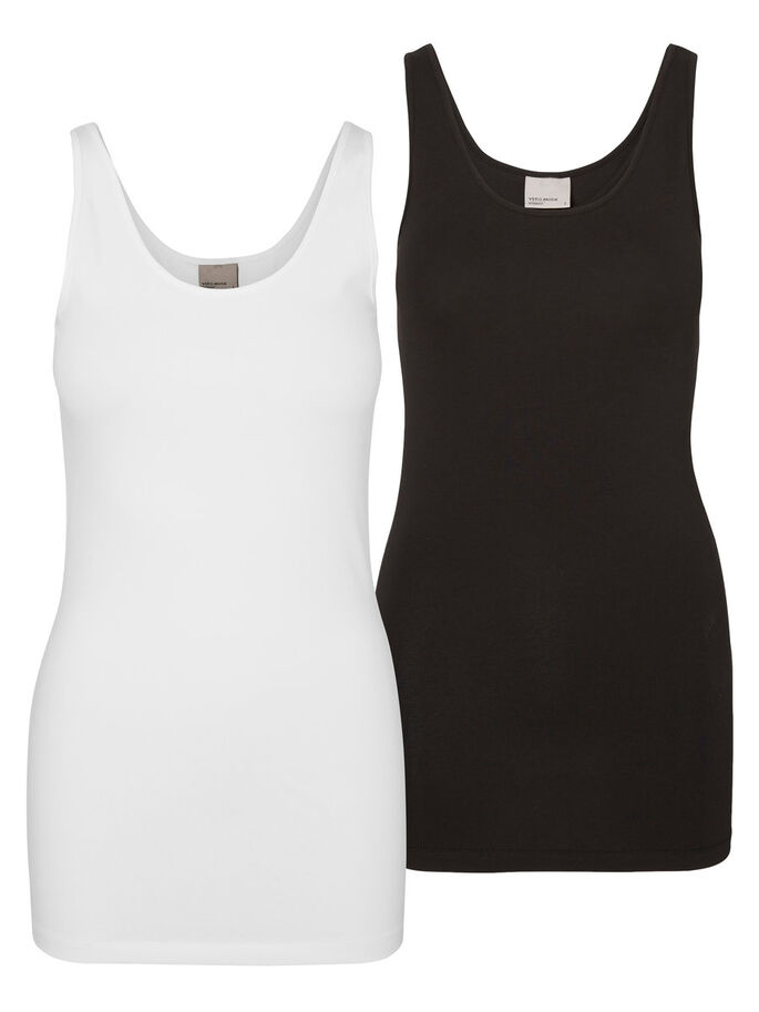 2ER-PACK MIT LANGEM TANK TOP, Bright White, large