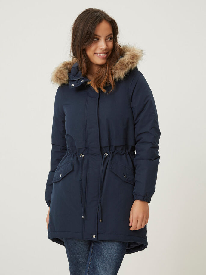 WINTER- JACKE, Navy Blazer, large