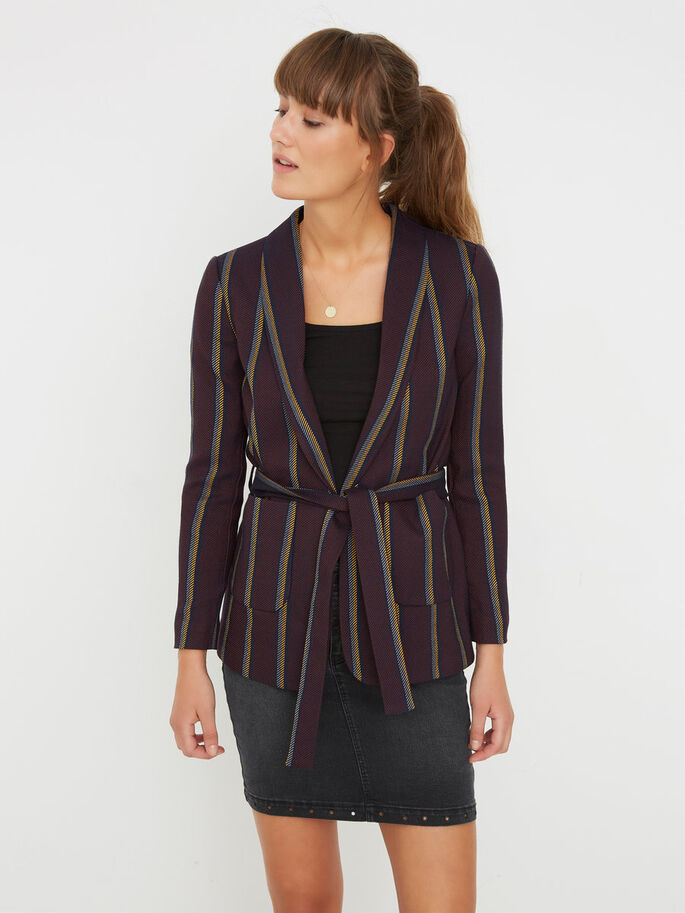 MANCHES LONGUES BLAZER, Fired Brick, large