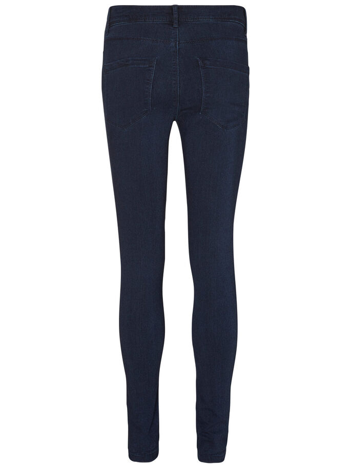 FLEX-IT NW FARKKULEGGINGSIT, Dark Blue Denim, large