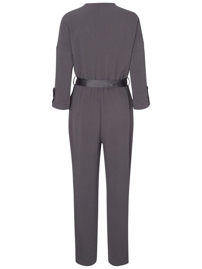 LONG SLEEVED JUMPSUIT, Asphalt, large