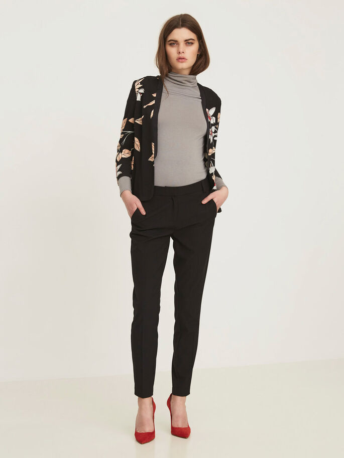 BLUMEN- BLAZER, Black, large