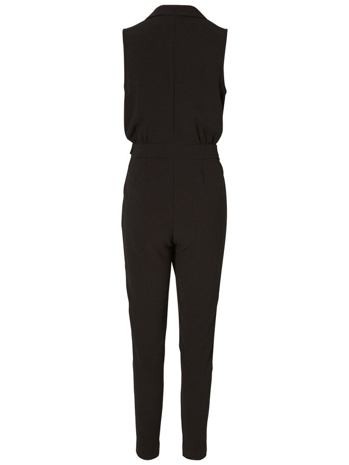 ERMELØS JUMPSUIT, Black, large