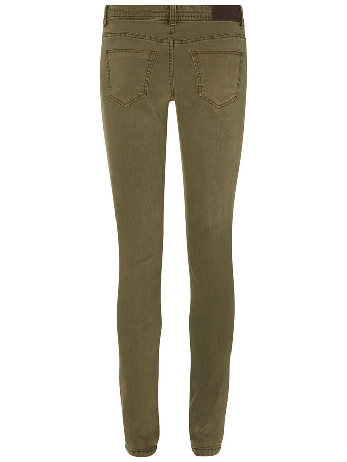 EVE LW SKINNY FIT JEANS, Ivy Green, large