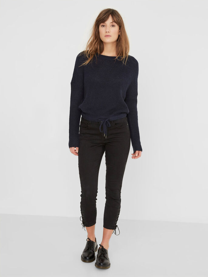 LUCY NM SKINNY FIT-JEANS, Black, large