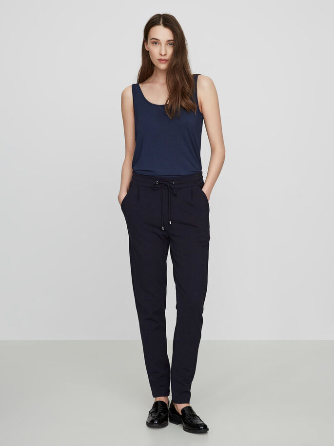 RORY LOOSE FIT TROUSERS, Navy Blazer, large