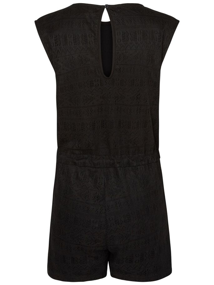 BLONDE PLAYSUIT, Black, large