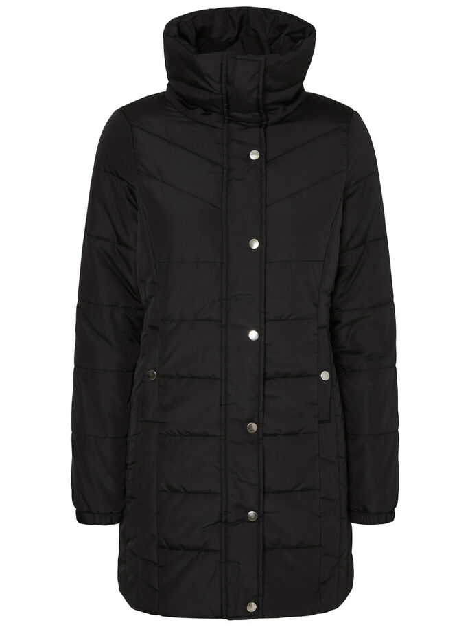 PADDED JACKET, Black, large