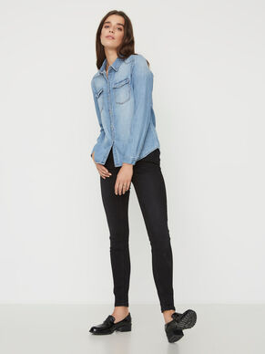 EVE LW ANKLE SKINNY FIT JEANS