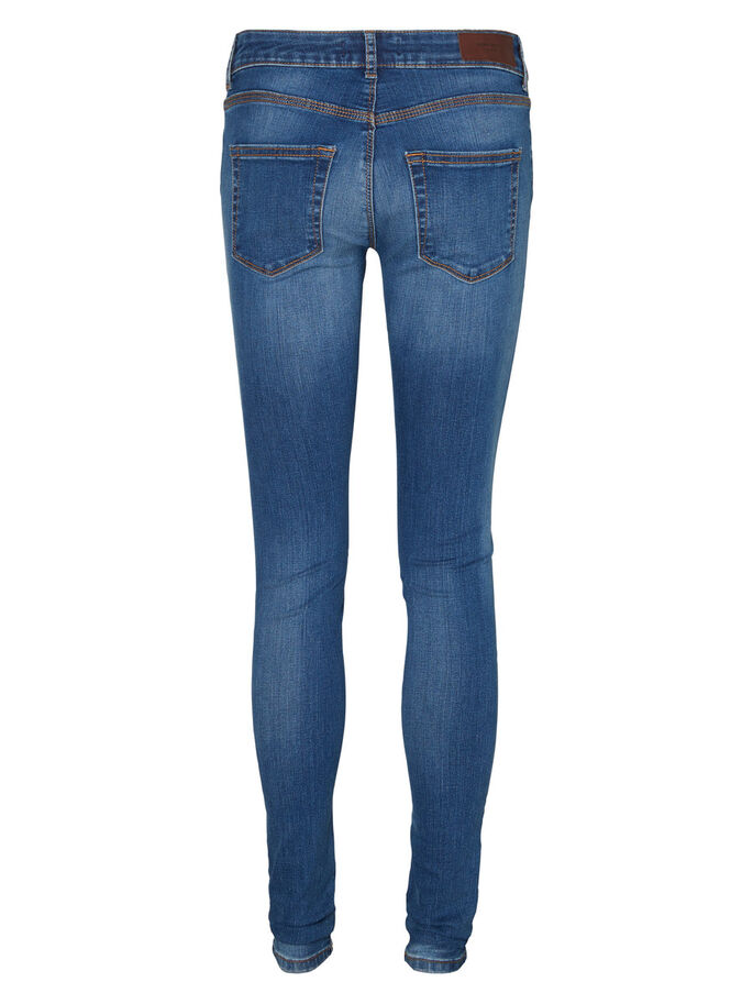 FIX LW SKINNY FIT JEANS, Medium Blue Denim, large