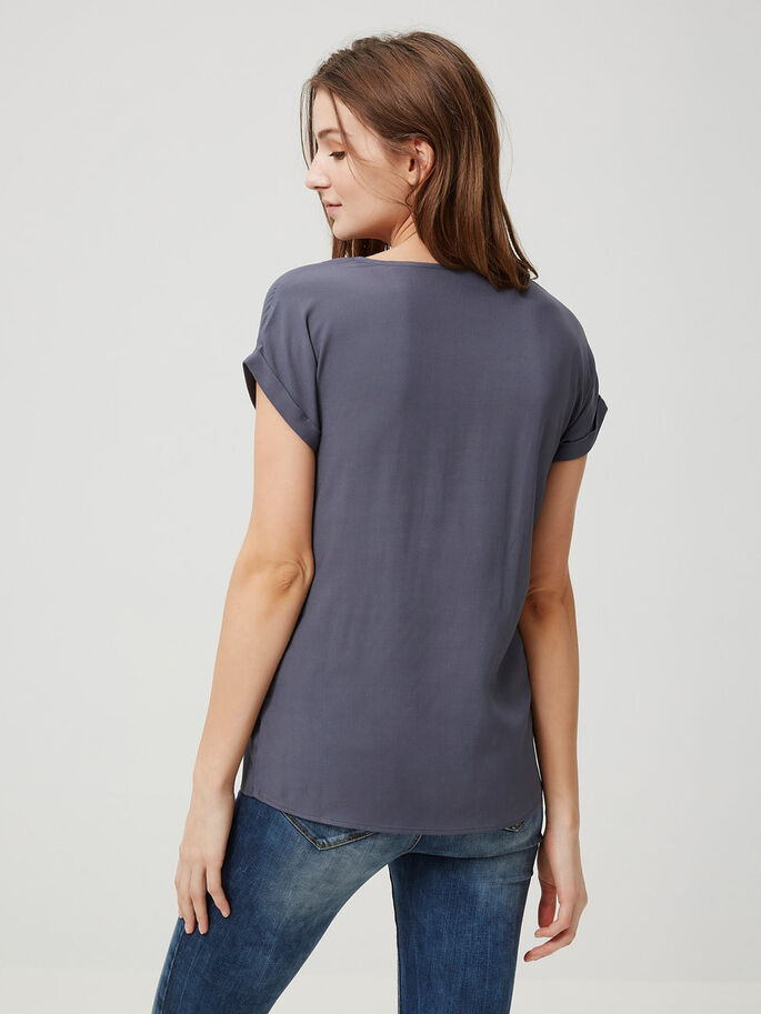 REGULAR FIT T-SHIRT, Ombre Blue, large