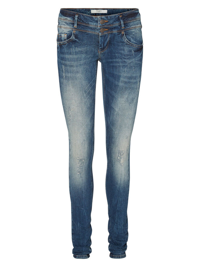 FIVE LW SKINNY FIT JEANS, Medium Blue Denim, large