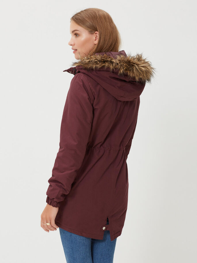 WINTER JACKET, Decadent Chocolate, large
