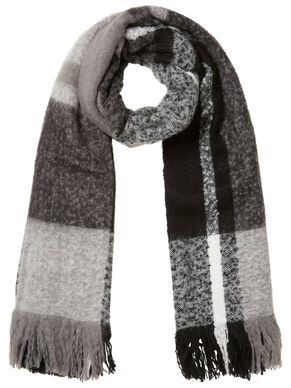 CHEQUERED SCARF