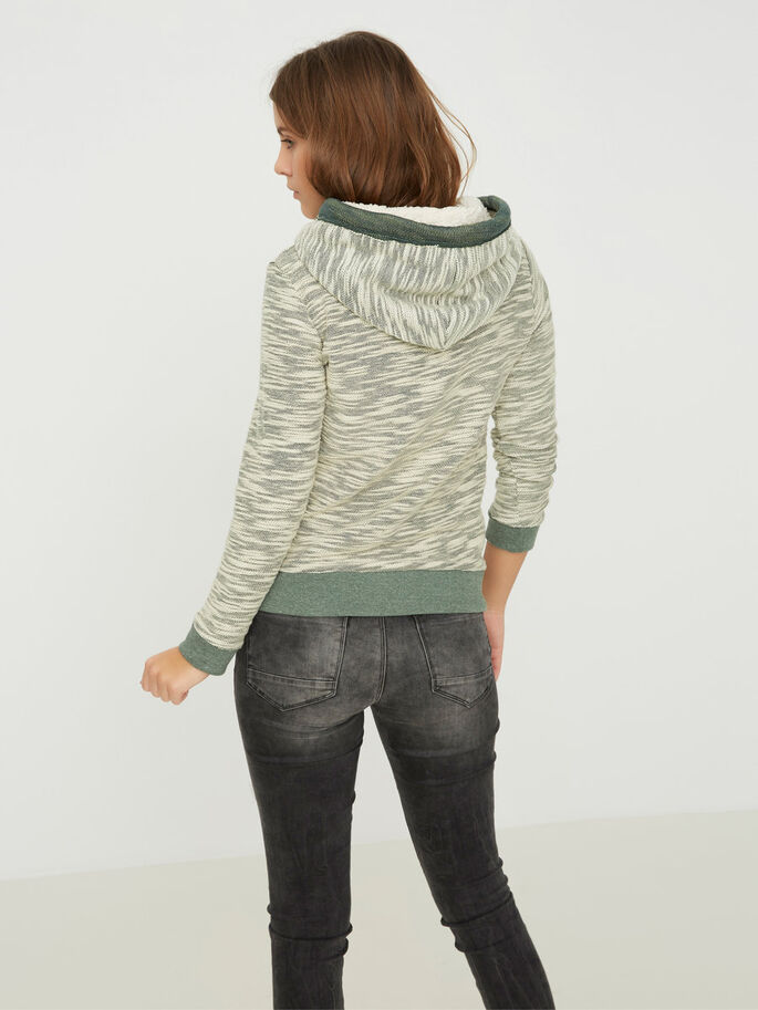 CASUAL SWEATSHIRT, Kombu Green, large