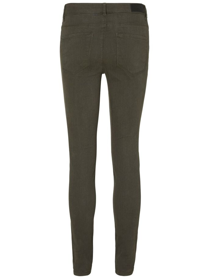 SEVEN NW SMOOTH SKINNY FIT JEANS, Peat, large