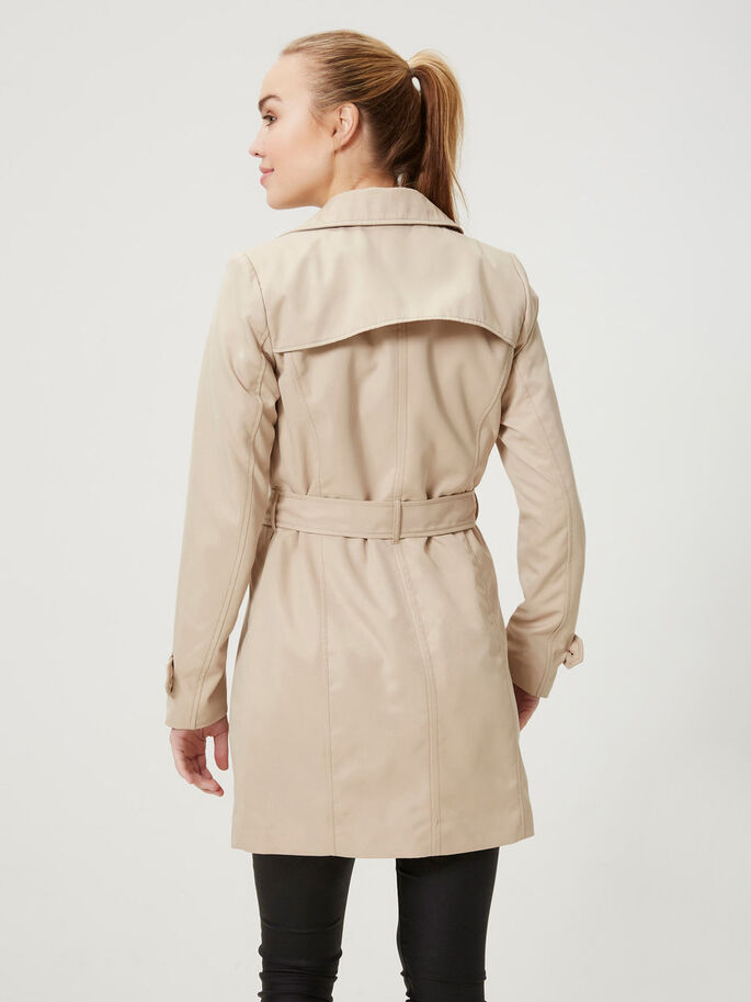 KLASSISK TRENCHCOAT, Warm Sand, large