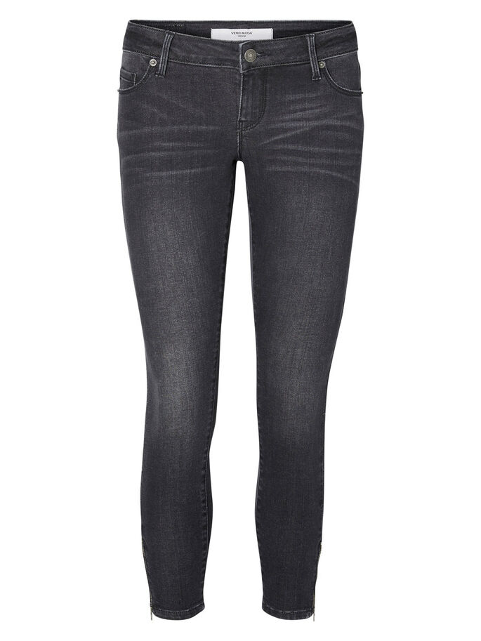 FIVE LW KNÖCHEL- SKINNY FIT JEANS, Black, large
