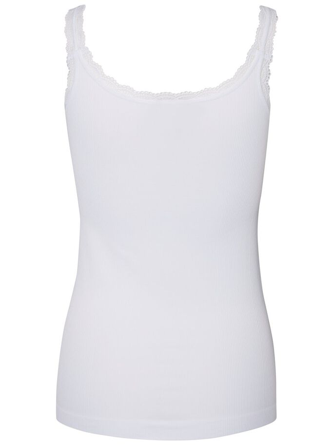 LACE SINGLET, Bright White, large