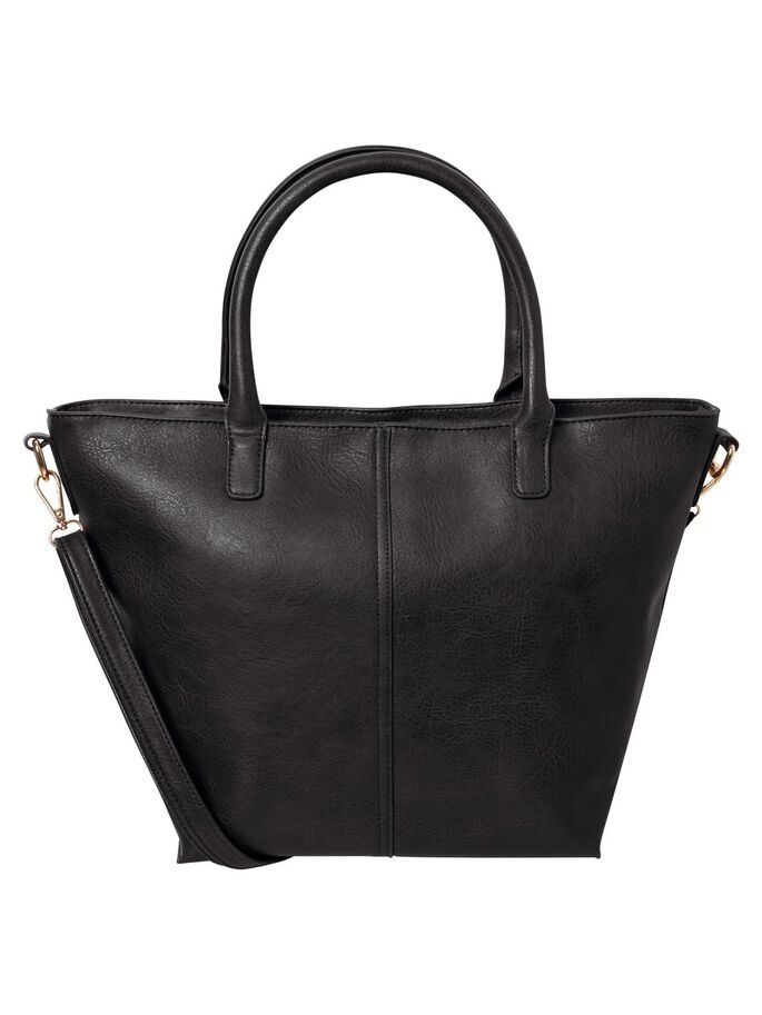 HAND BAG, Black, large