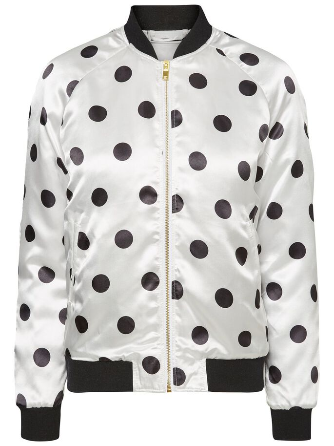 BOMBER VESTE, Snow White, large