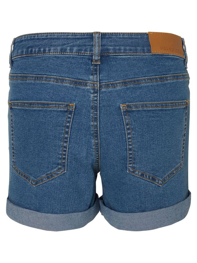JEANS- SHORTS, Medium Blue Denim, large