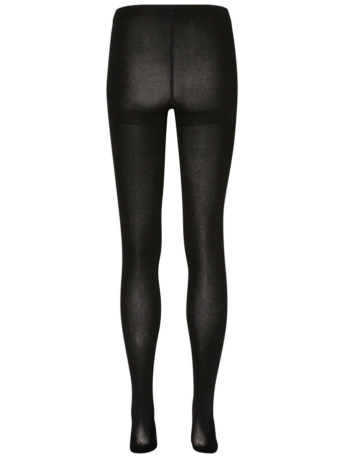 2-PAKNING TIGHTS, Black, large