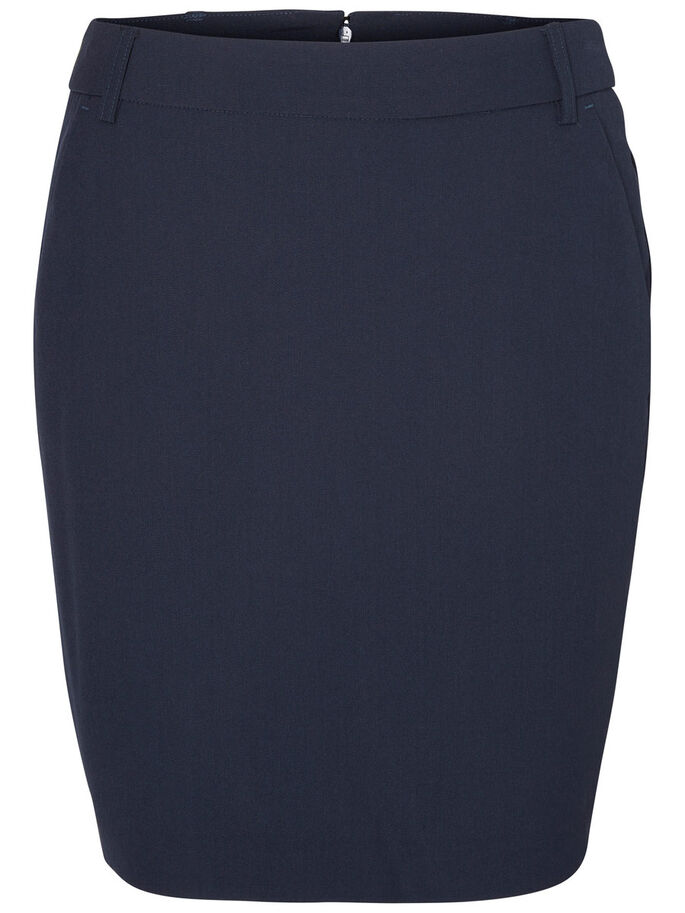 TIGHT FIT SKIRT, Navy Blazer, large