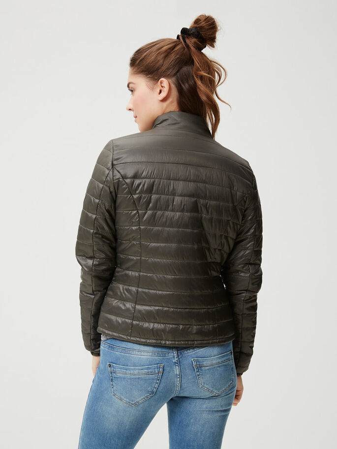 PADDED JACKET, Beluga, large