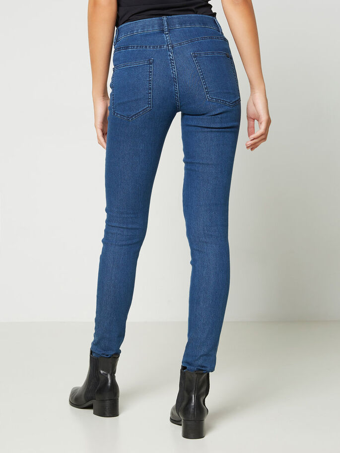PARIS NW JEGGINGS, Dark Blue Denim, large