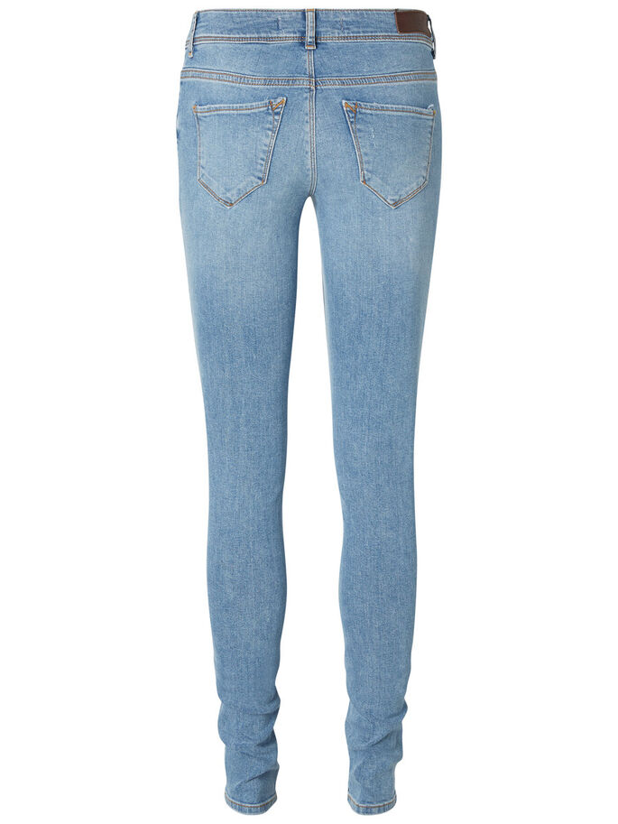 FIVE LW JEAN SKINNY, Light Blue Denim, large