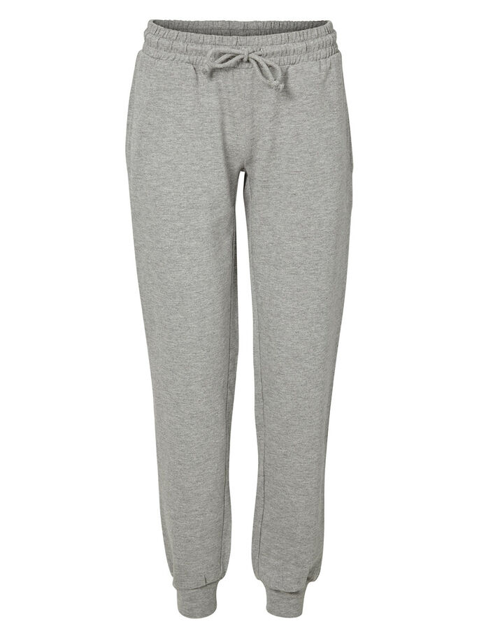 JERSEY SWEAT PANTS, Light Grey Melange, large