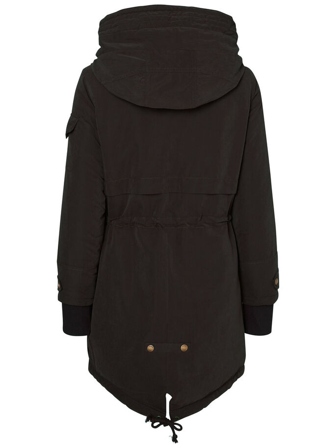 WINTER- JACKE, Black, large
