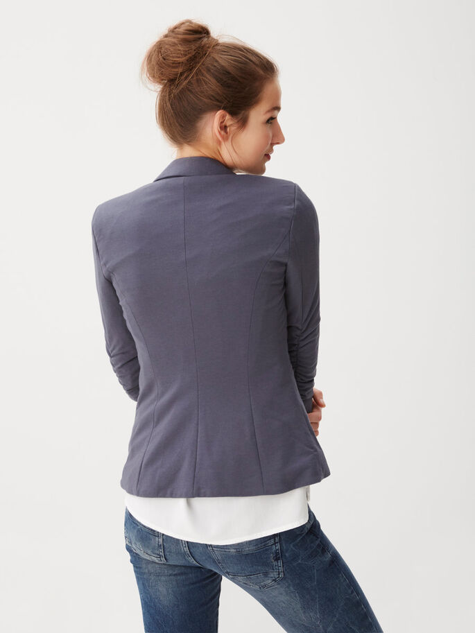 SWEAT BLAZER, Ombre Blue, large