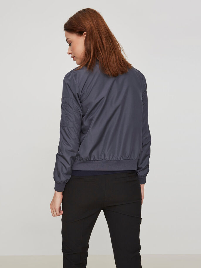 BOMBER JACKET, Ombre Blue, large