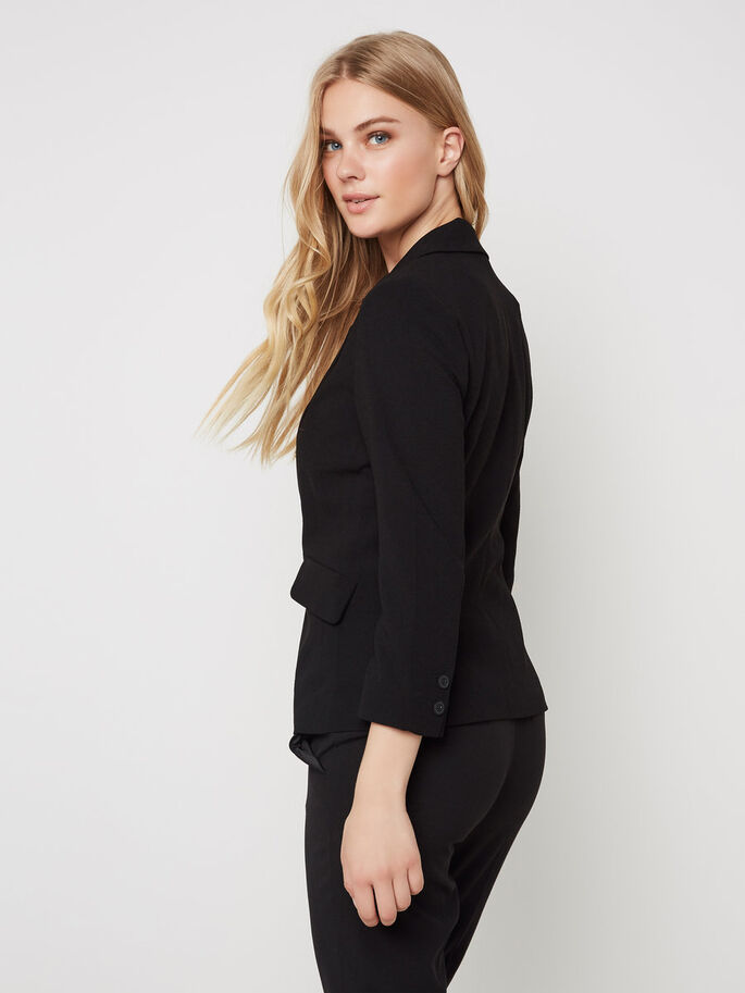KLASSISK BLAZER, Black, large