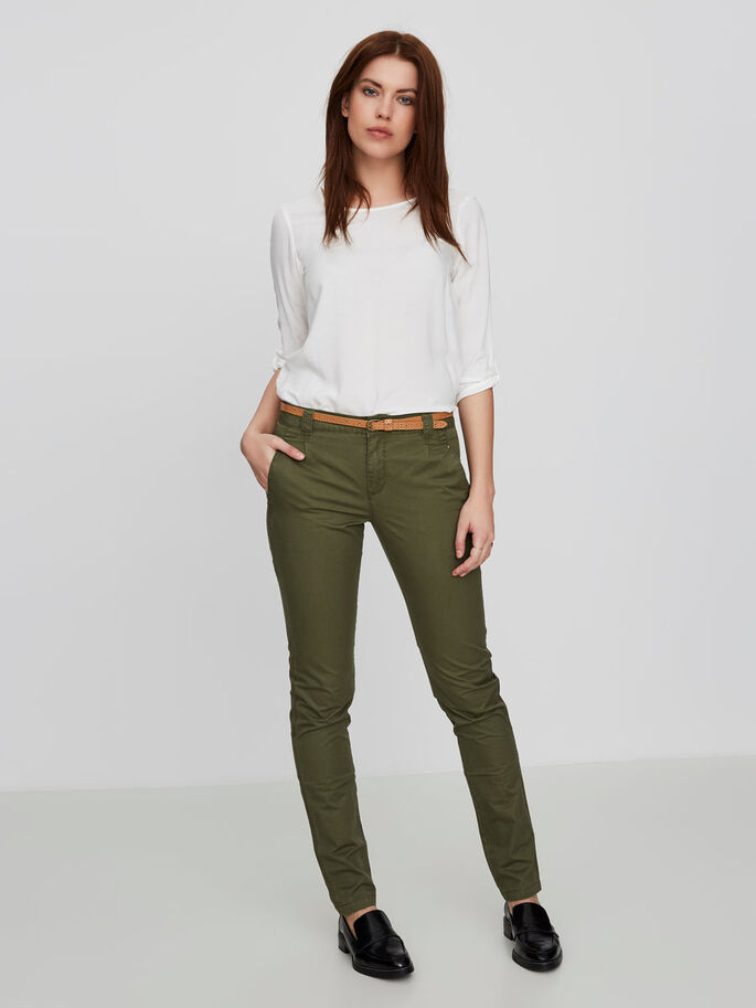 CLASSIC LW CHINOS, Ivy Green, large