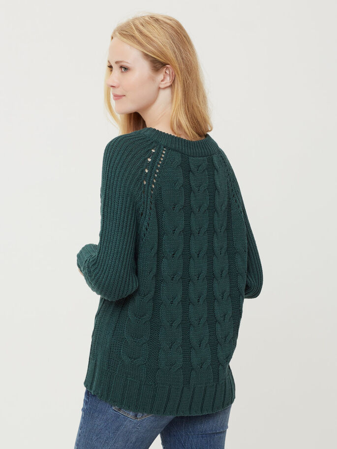 MANCHES LONGUES PULLOVER, Ponderosa Pine, large