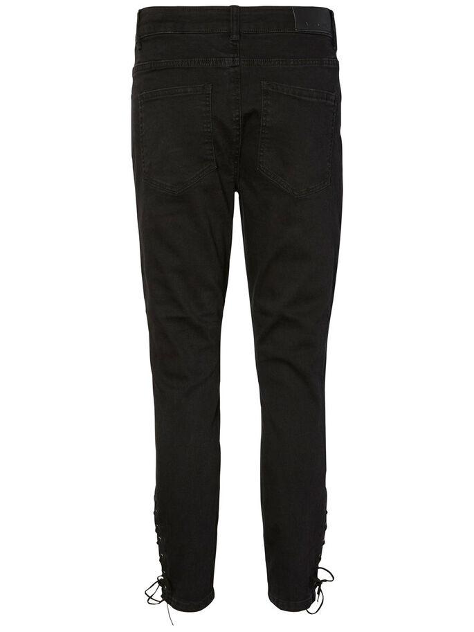 LUCY NM SKINNY FIT JEANS, Black, large