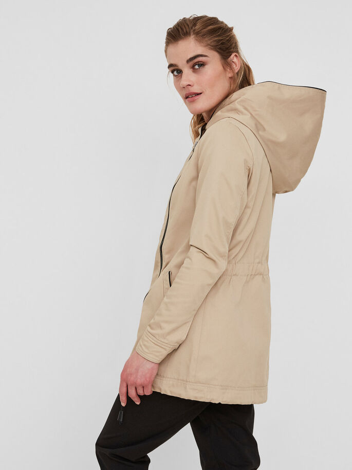OVERGANGS PARKAS, Stocking Beige, large
