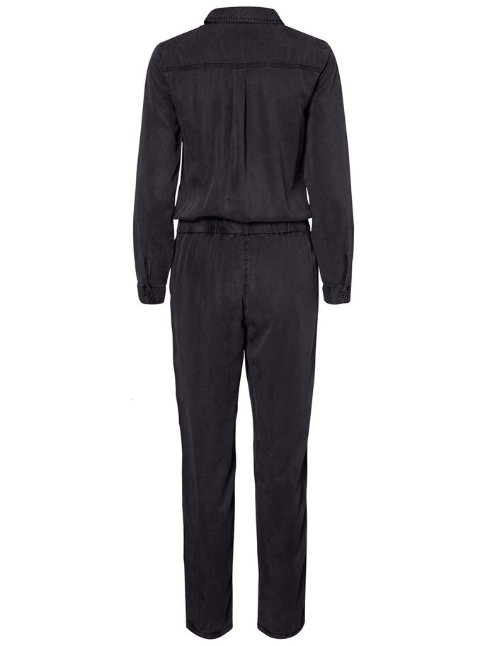 LYOCELL JUMPSUIT, Black, large