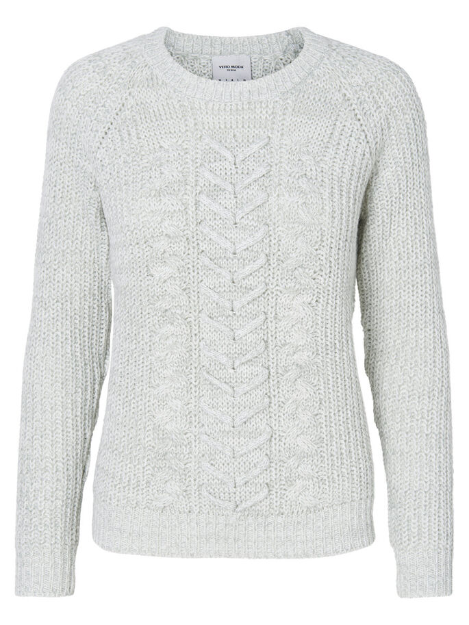 MANCHES LONGUES PULL EN MAILLE, Snow White, large